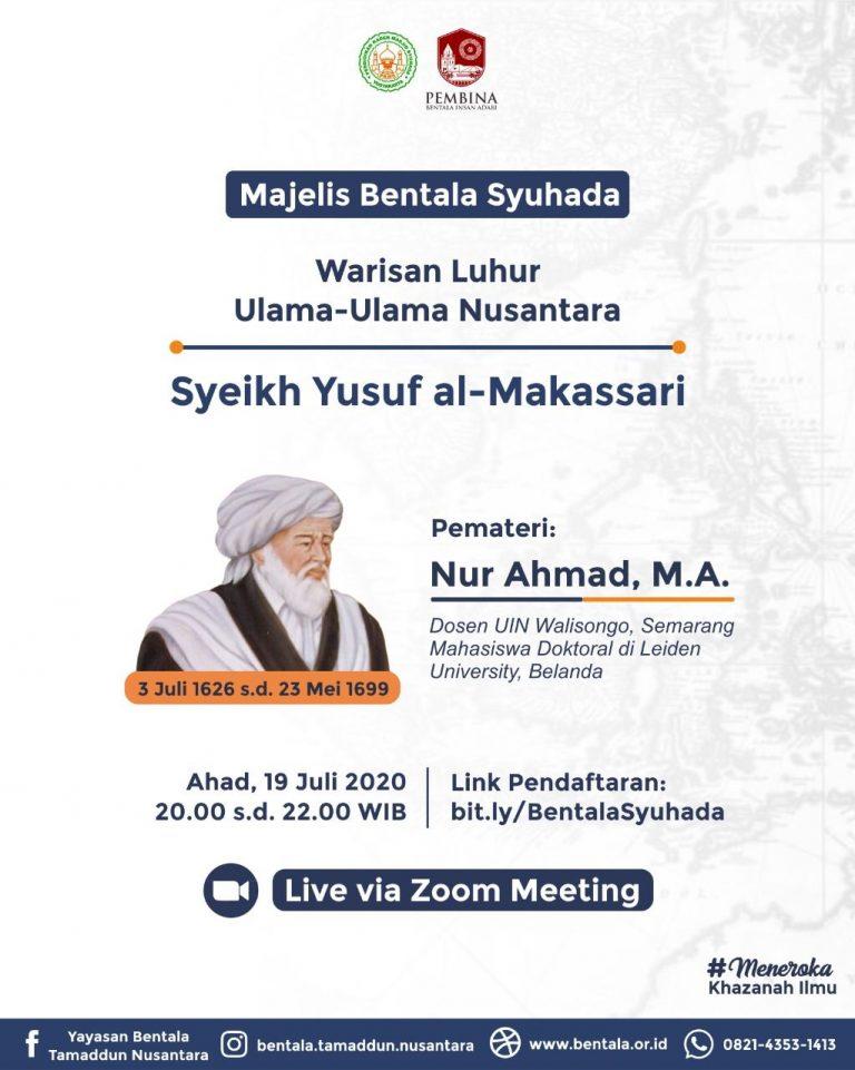 MBS 19 Juli 2020 – Harmoni Syari'at dan Ma'rifat Syeikh Yusuf al-Makassari