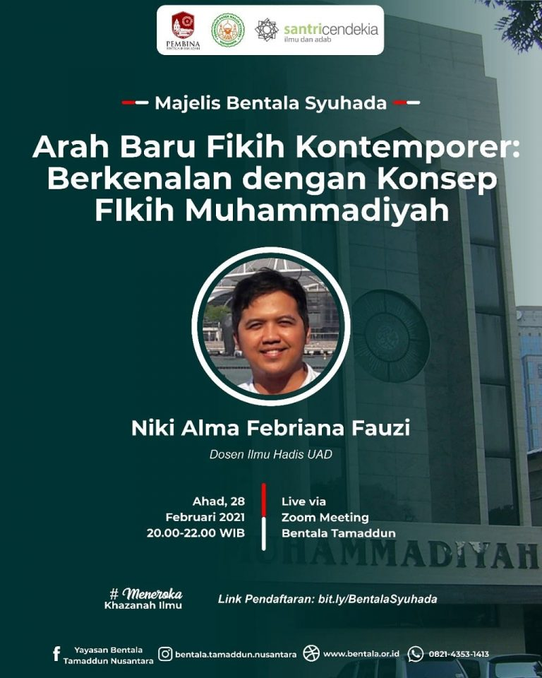 MBS 28 Februari 2021 – Arah Baru Fikih Kontemporer: Berkenalan dengan Konsep Fikih Muhammadiya
