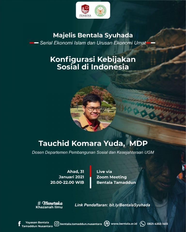 MBS 31 Januari 2021 – Konfigurasi Kebijakan Sosial di Indonesia